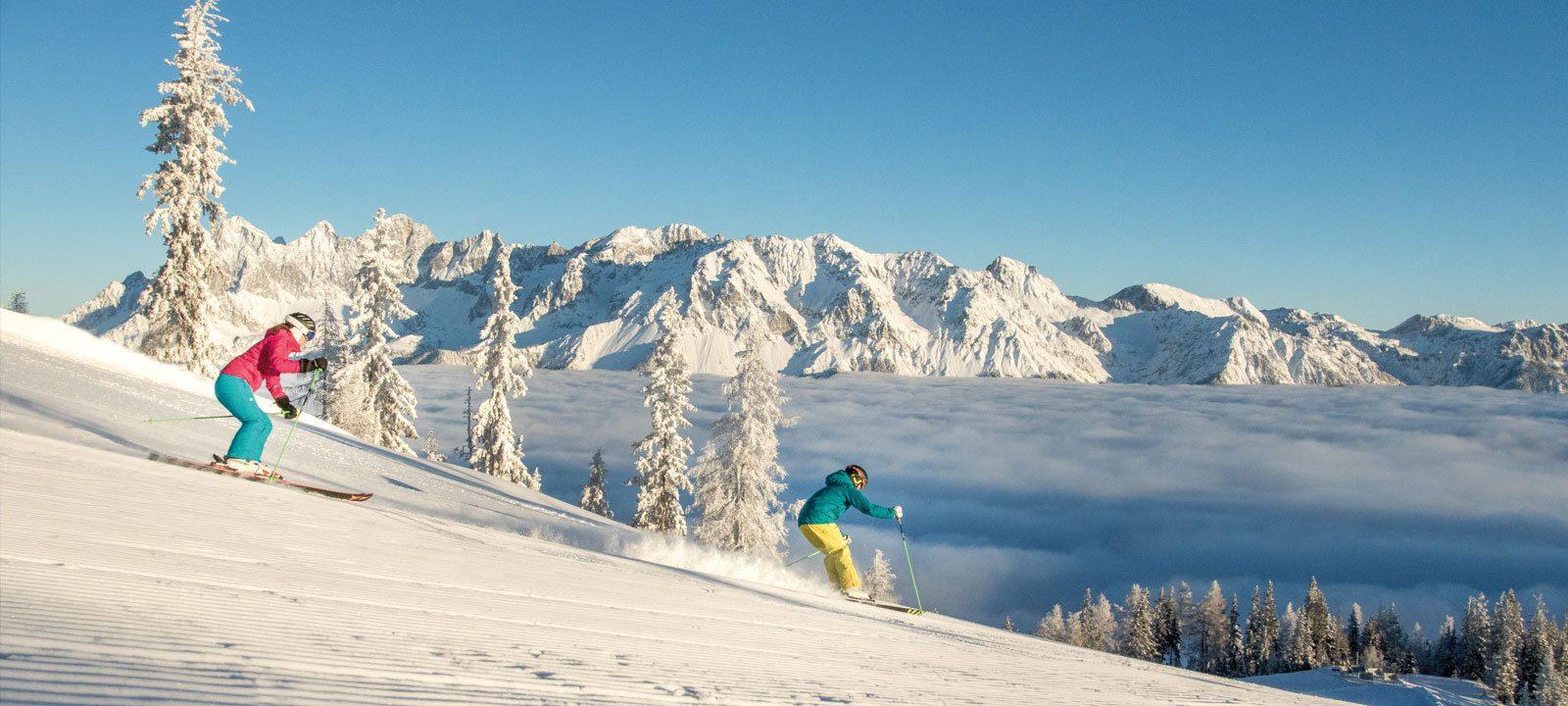Skifahren Hochwurzen