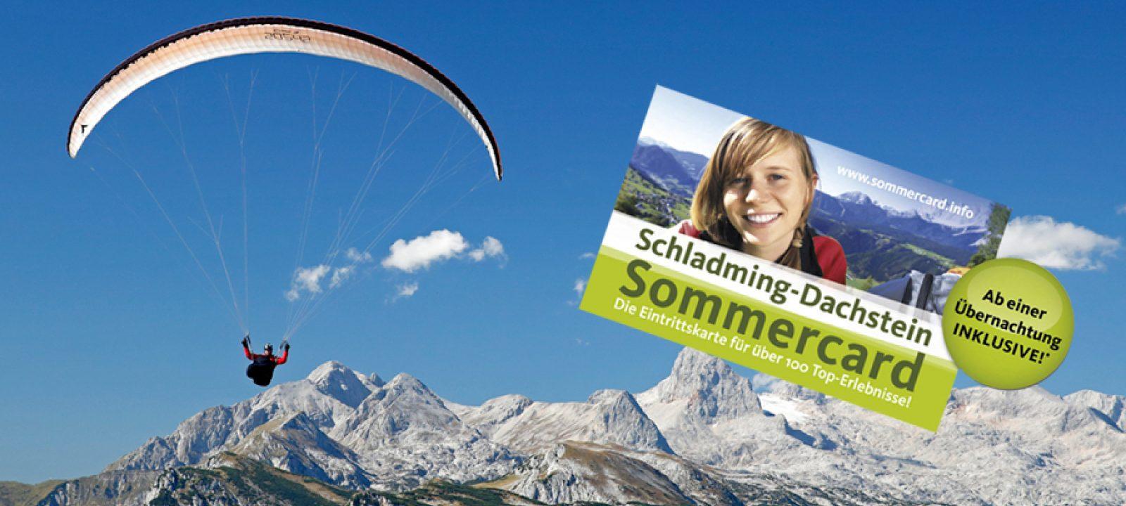 Sommercard Plus Paragleiter