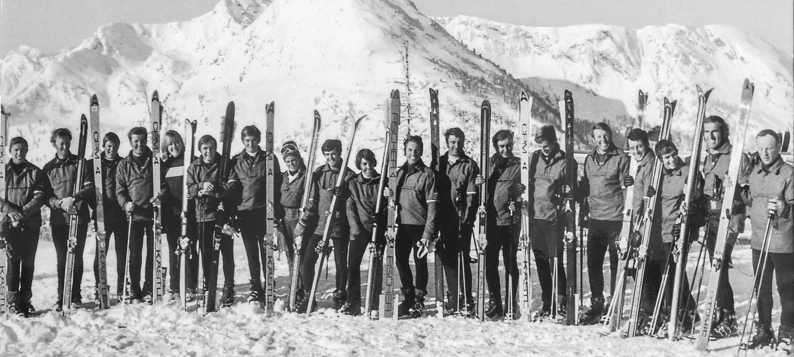 Ski School Tritscher 1964