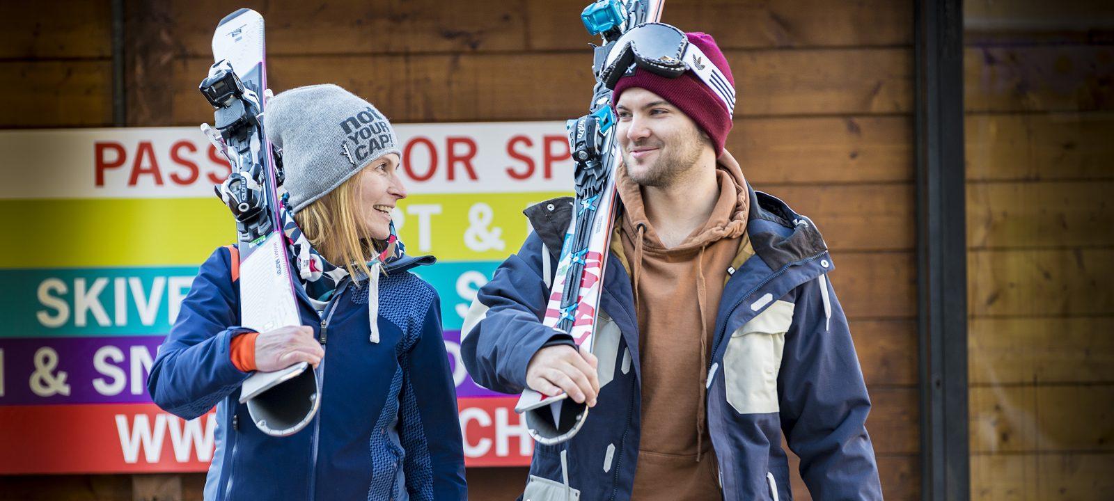 Startklar nach Skiservice